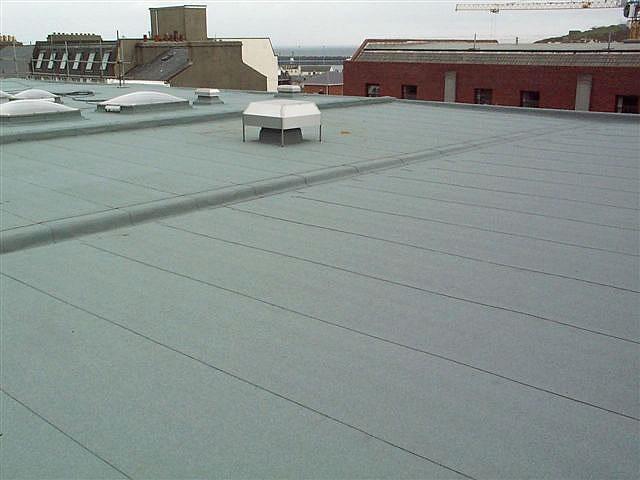 Elastomeric Roofing Membrane : Montreal summit roofs skylights elastomeric